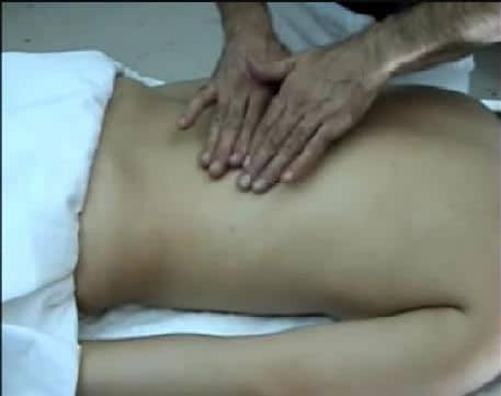 Tratamiento por masaje