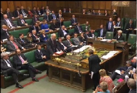 Cámara de senadores de Inglaterra