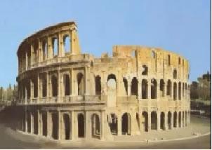 El coliceo romano