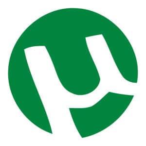 Logo de utorrent programa que sirve para descarga de archivos.