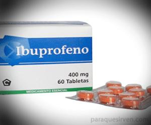 Es necesario poner atención a las condiciones del paciente antes de administrarle el Ibuprofeno