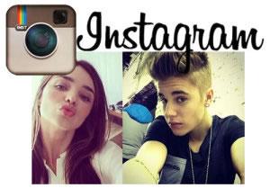 Selfies de artistas en instagram