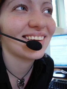 Micrófono en videoconferencia
