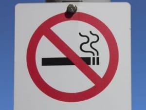 Señal de no fumar