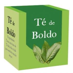 Caja con bolsitas de té de boldo