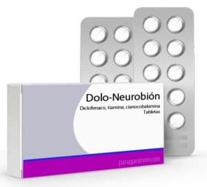 Dolo-Neurobión caja y pastillas